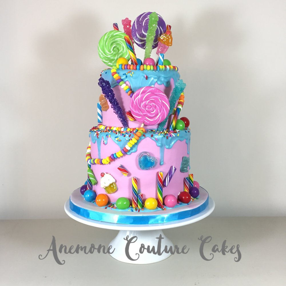 Custom Cake Gallery Anemone Couture