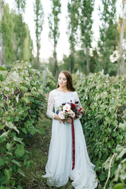 Bride Burgundy Blush Navy Wedding Bouquet by Mila Adams Utah Kentucky Florist