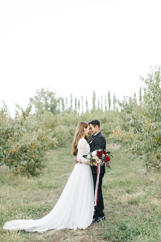 Burgundy Navy Blush Bridal Bouquet by Mila Adams Kentucky Utah Florist