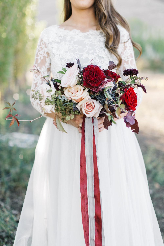 Bridal Blush Navy Burgundy Bouquet by Mila Adams Kentucky Utah Destination Florist