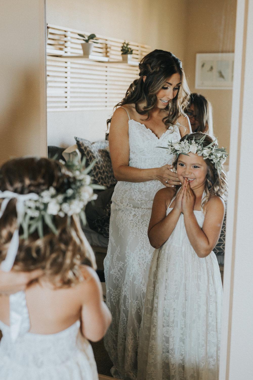 Mila Adams Kentucky Utah Destination Wedding Florist  Flower girl flower crown