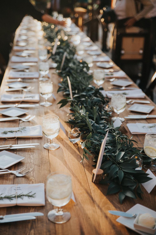 Mila Adams Kentucky Utah Destination Wedding Florist Farmhouse Garland