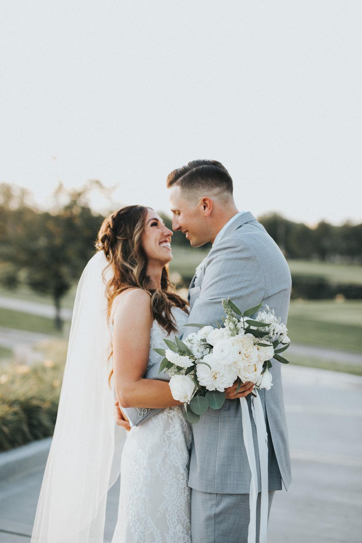 Mila Adams Kentucky Utah Destination Wedding Florist White Bridal Bouquet