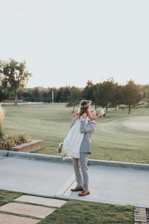 Mila Adams Kentucky Utah Destination Wedding Florist White Flower Girl Crown