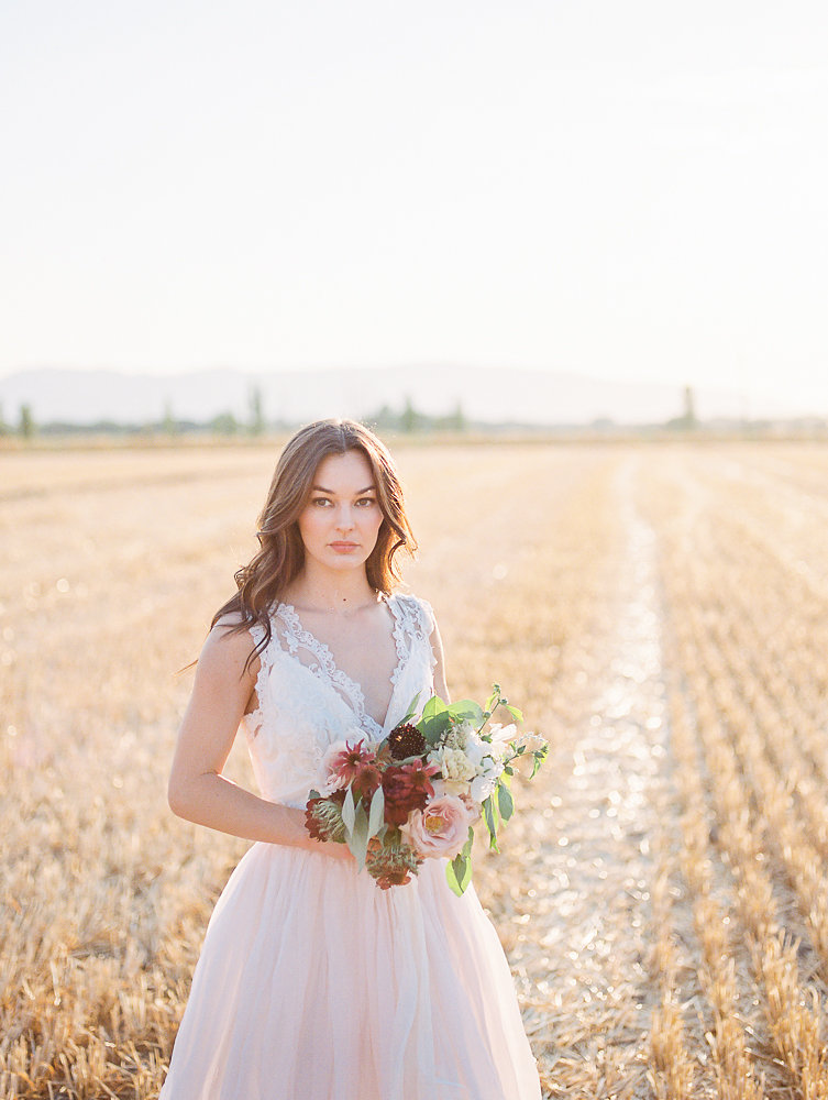 Mila Adams - Kentucky Florist Utah Destination Florist - Burgundy Blush White Bouquet