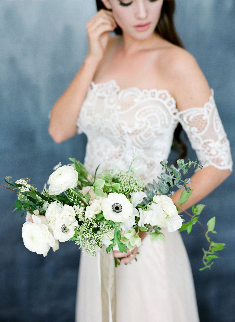 White Bouquet  Louisville Lexington Kentucky Wedding Florist