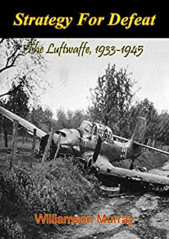 - A deep dive analysis of how the Luftwaffe fought in WWII. More than just the operational strategy, Murray relates the industrial and institutional decisions of Goering and the Third Reich and how they each led to ultimate defeat. The Luftwaffe fought on four fronts (Western Europe, Russia, Balkans and over Germany) simultaneously, with each new front the Germans opened, the Luftwaffe had to spread its forces, ultimately turning into a battle of attrition (aircraft and pilots) which they could never win. Further, decisions to loot factories in occupied territories and store machine parts in Germany ensured that when those factories were needed, they were not available. The Germans were not efficient occupiers. The only flaw in the writing, Murray often gets bogged down with statistics and numbers which can be a bit mind numbing, but the prose and analysis in the book was spot on