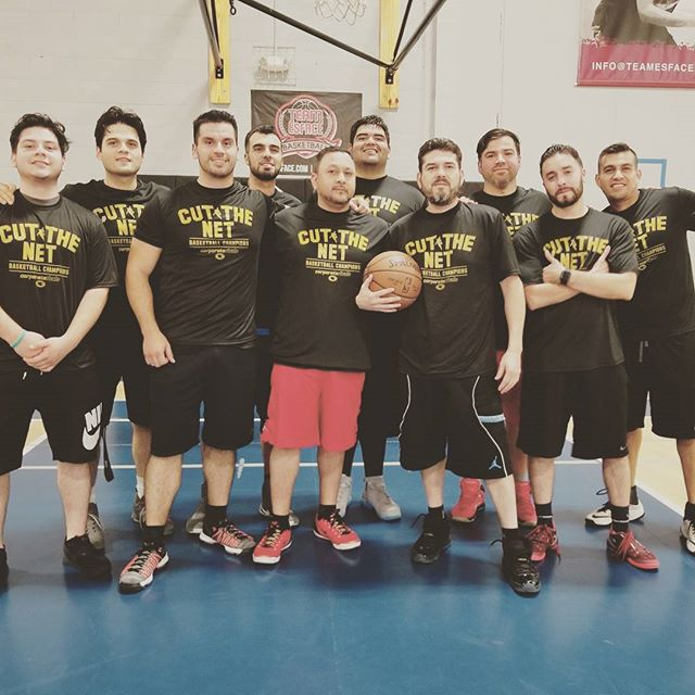 7-time Champions of the Corporate Rivals Basketball League here @ SportsHouse * * FRANCHISE * #sportshouserc #sportshouseredwoodcity #indoorsports #basketball #champions #cutthenet #champs #franchise