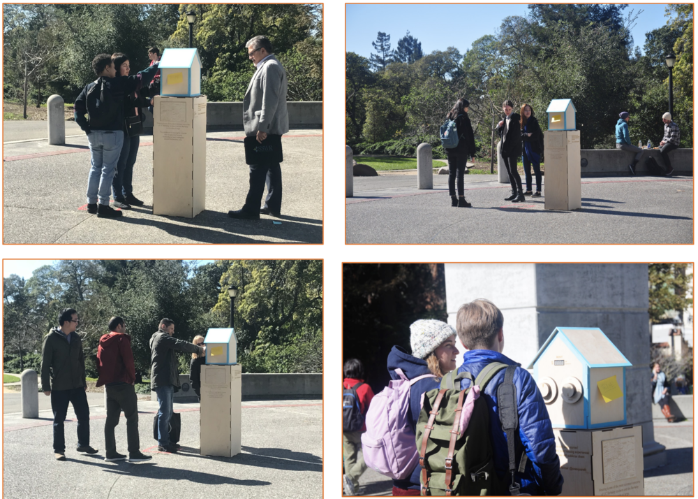 Reflection - The very meaning of the protest we were staging through One Square Ft hinged on public interaction. To that end, we found that the various aspects of our project demonstrated varying levels of success.