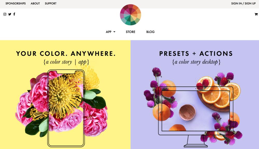 Color Story App