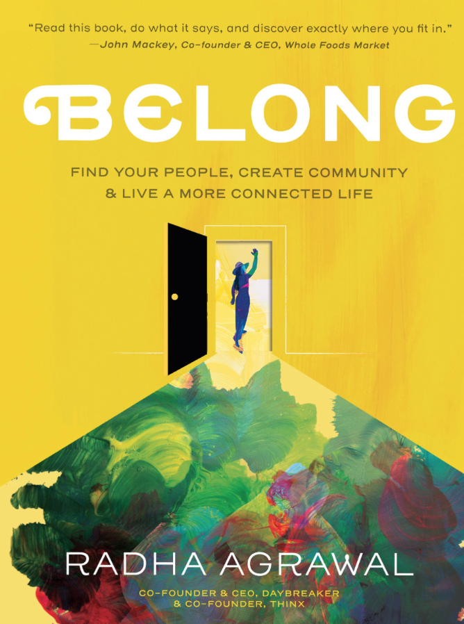 I highly suggest this book if you are looking for a new community or are working on building your support system.