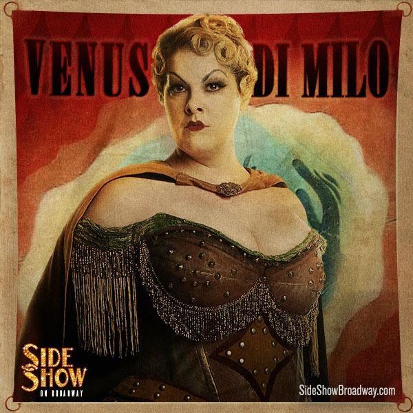 "Venus Di Milo, ""Side Show"""