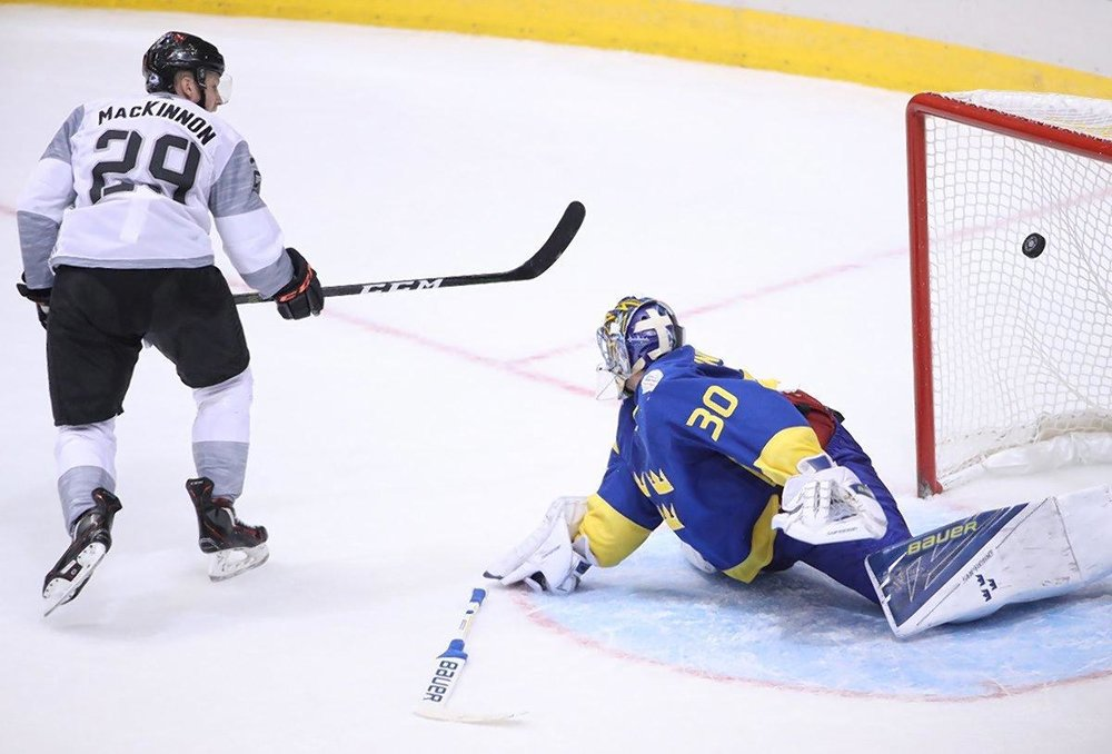 Nathan MacKinnon's OT winner capped off perhaps the best game of the tournament.