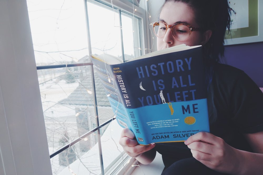 History Is All You Left Me By Adam Silvera Review Book 2 Of 2017