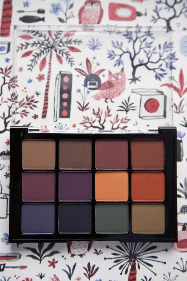 Viseart Eye Shadow Palette in Dark Mattes