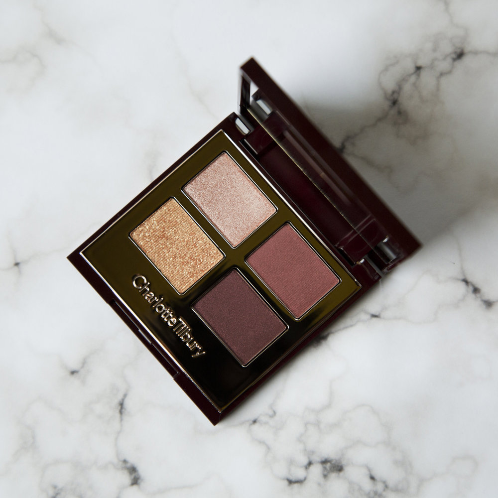 Charlotte Tilbury Luxury Palette in The Vintage Vamp   This was the other eyeshadow quad that I really wanted that I knew I would be able to get some use out of (I really like   The Rebel   palette but don't think I'd get much wear out of it since it's very bold). I love the color story in this one so much and think it looks pretty good with my eye color as well. The glitter pan will be getting the least use since it's a bit glam for my taste but I can definitely appreciate it in this palette. The colors in this pair really well with the Ciaté pigment which is an added bonus for me so I can get more mileage out of both products since they work so well together. I absolutely love this palette and would highly recommend if if you're into these tones which would be great for fall. I also paid $53 for this palette as well but think that it was well worth it for me since I'm low key obsessed with this one. If you want to see this palette in action you can check out Charlotte's The Vintage Vamp look   here  .