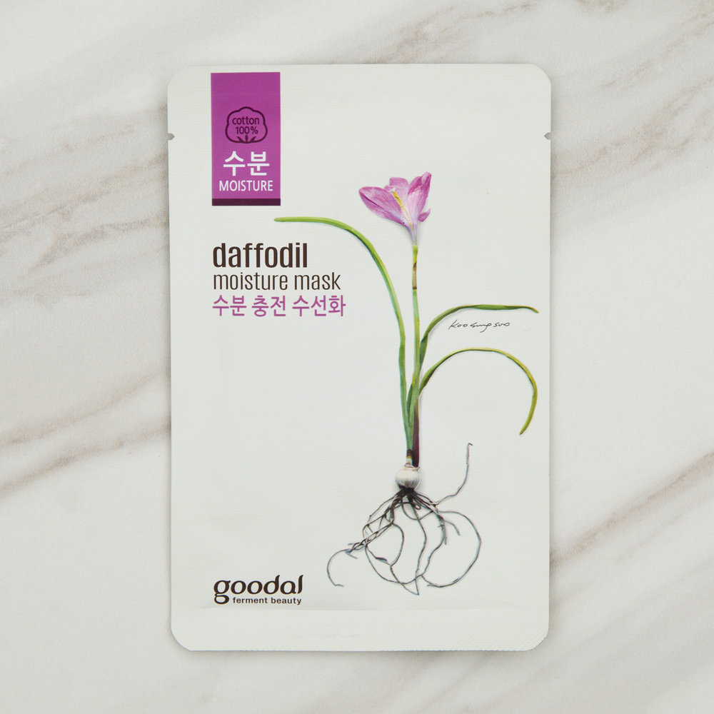 Goodal Daffodil Moisture Sheet Mask $5