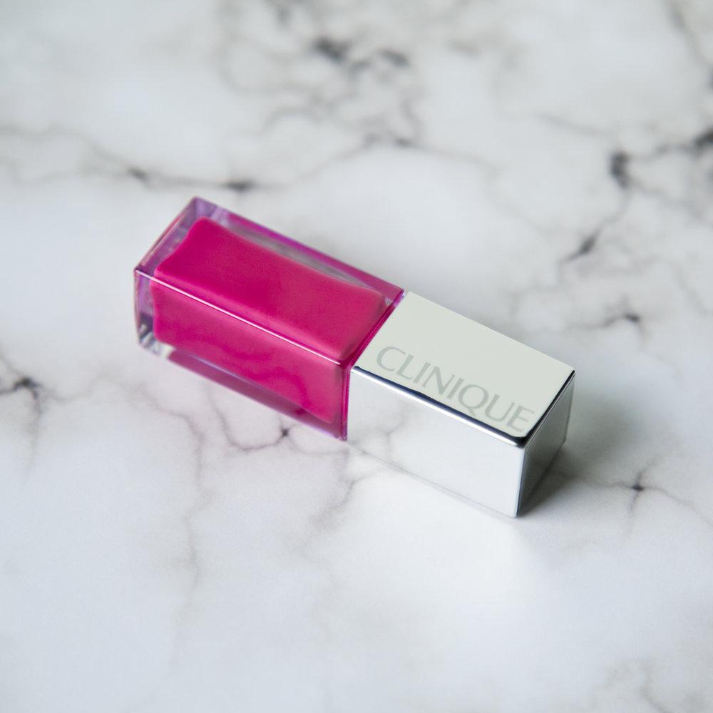 Clinique Pop Lacquer Lip Colour + Primer in Sweetie Pop