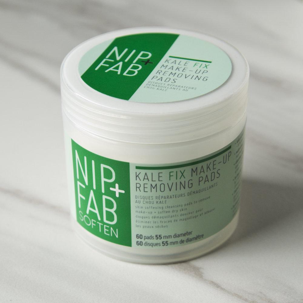 Nip + Fab Soften Kale Fix Make-Up Removing Pads