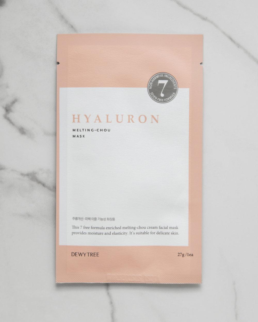Dewytree Hyaluron Melting-Chou Mask $3.50