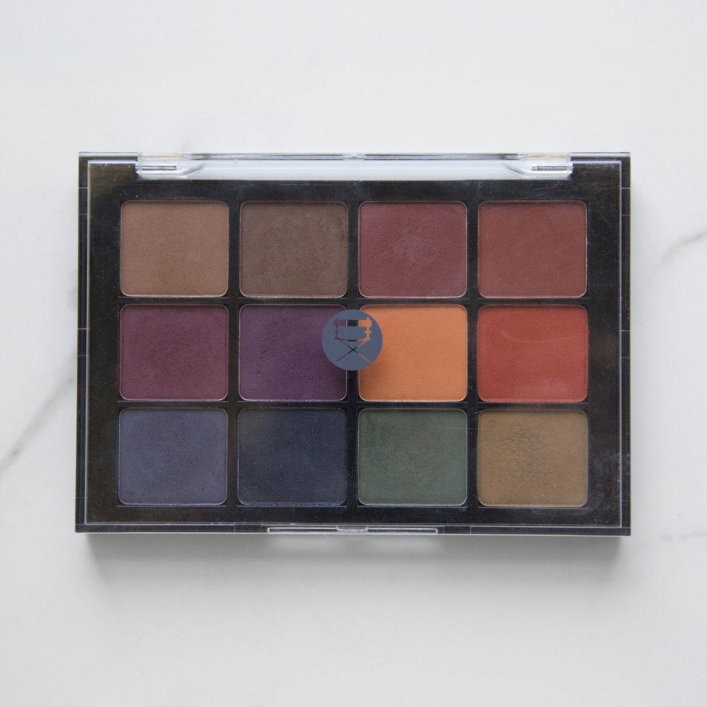 Viseart Eyeshadow Palette 4 Dark Mattes