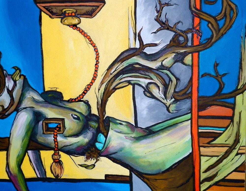 untitled #2  - acrylic on canvas 24x36