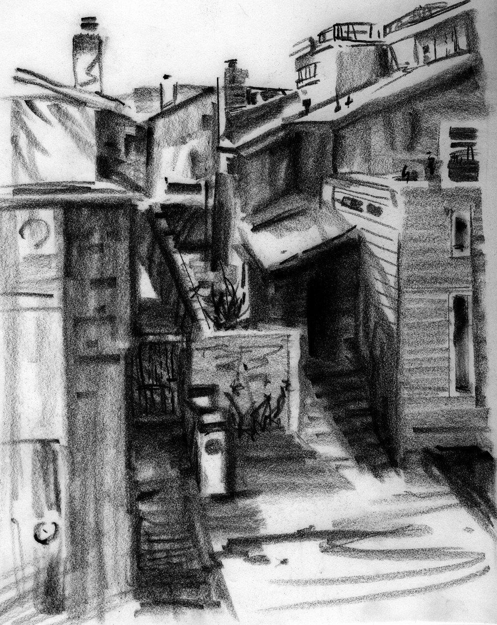 Back Alley in California