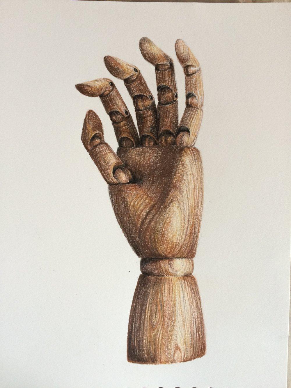 Texture study - wood