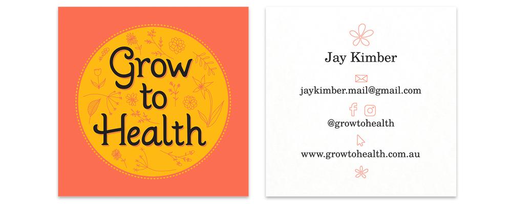 Business card design for Jay Kimber