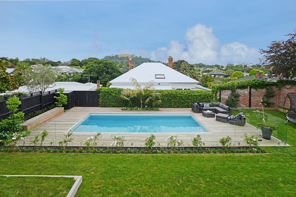K rlek creating beautiful homes auckland home for Pool design auckland