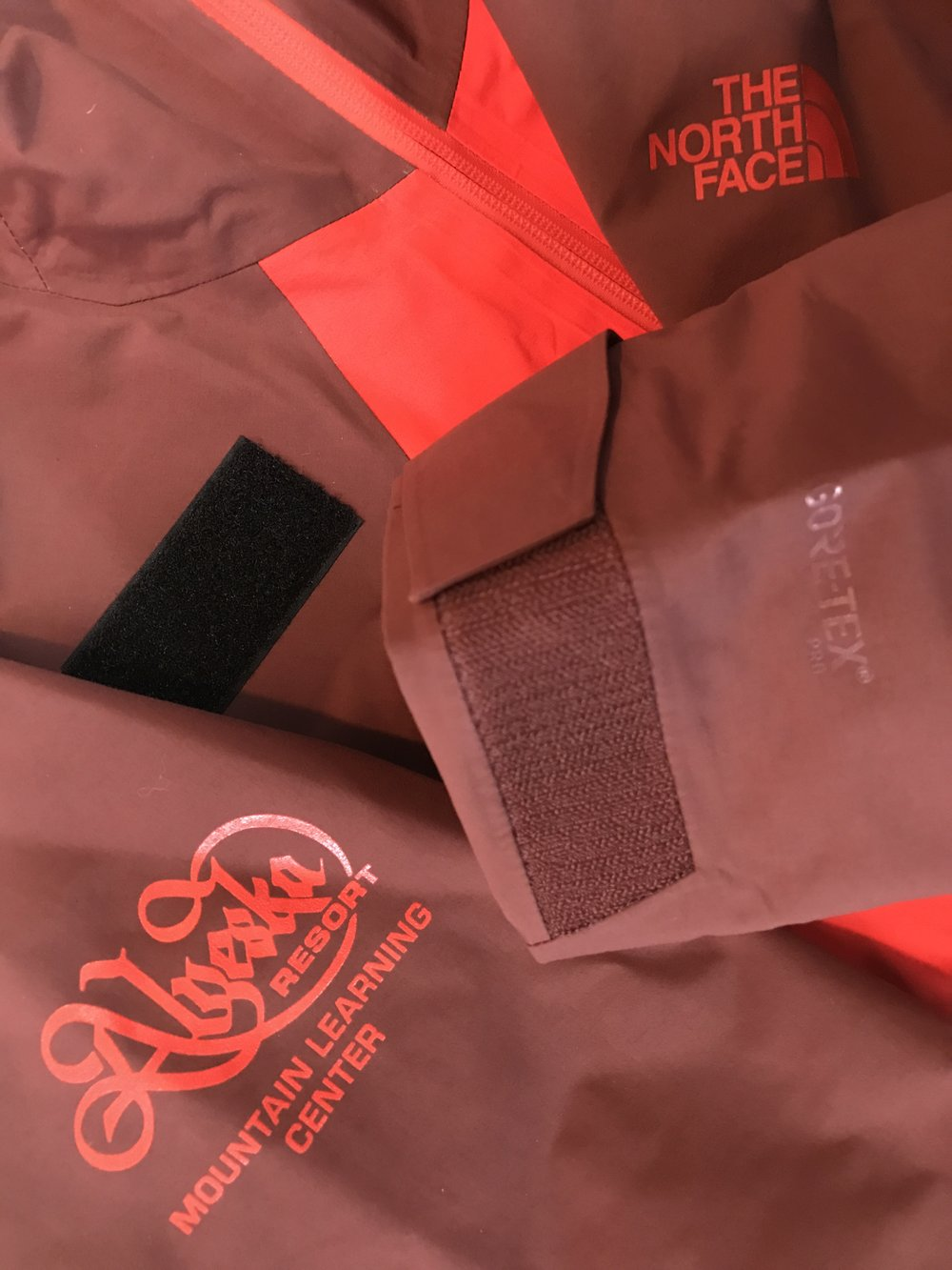 Velcro® Loop Name tags on Gore-Tex® Jackets