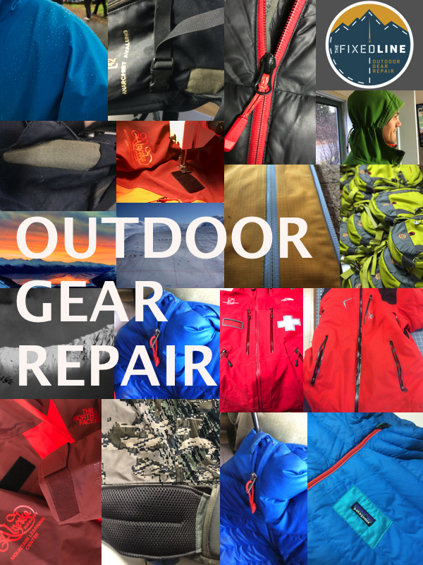 Repairs mosaic.jpg & Outdoor Gear Repair - The Fixed Line
