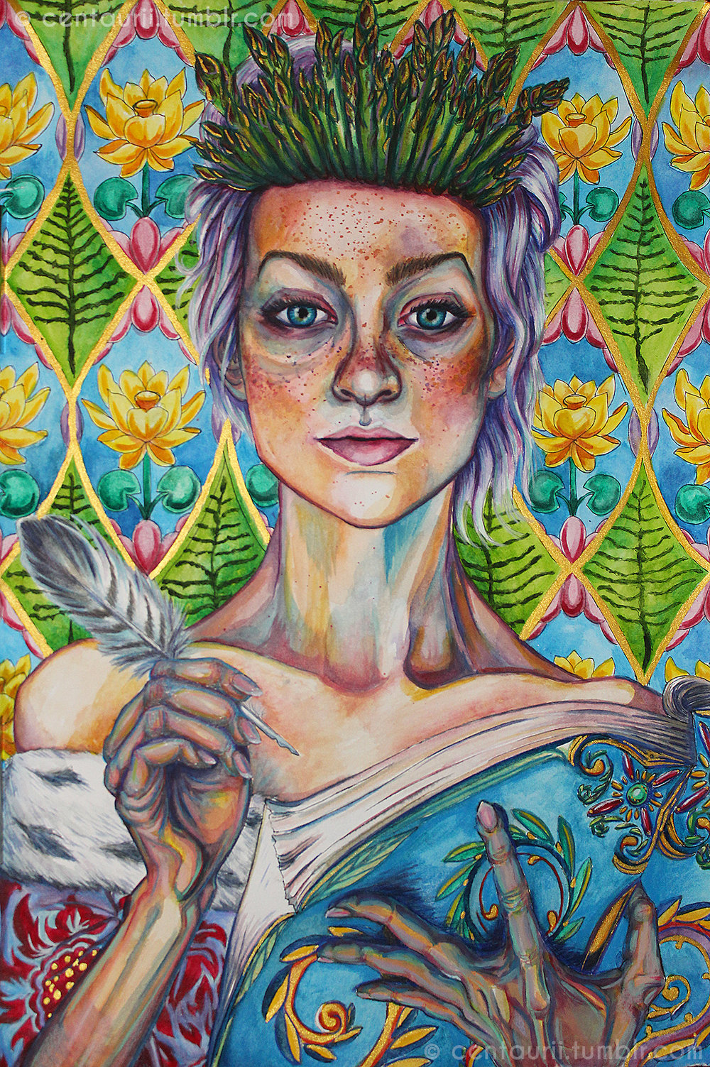 Asparagus Queen - Emery Allen