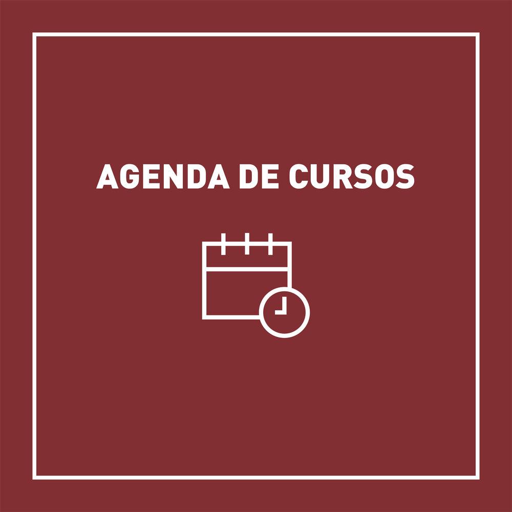 Confira nossa agenda de cursos