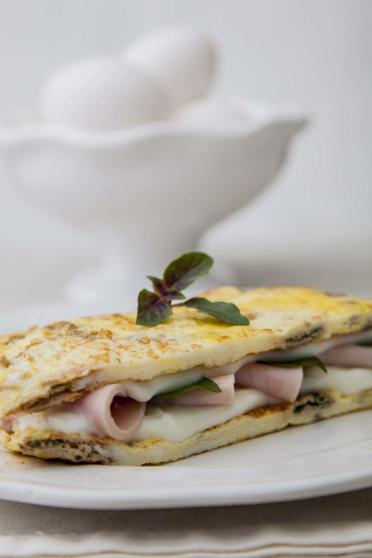 Sanduíche de Omelete