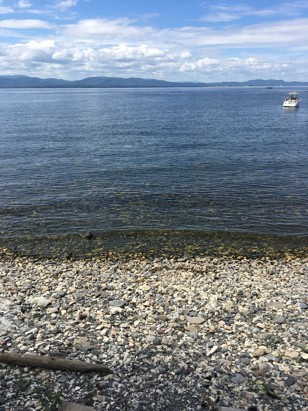 lake champlain at shelburne farms
