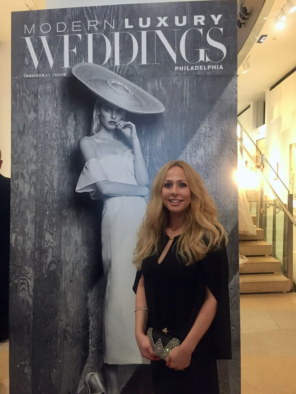 74e570dd797 I attended the celebration of the inaugural issue of Modern Luxury Weddings  Philadelphia Magazine in June. The party was at the Pennsylvania Academy of  the ...