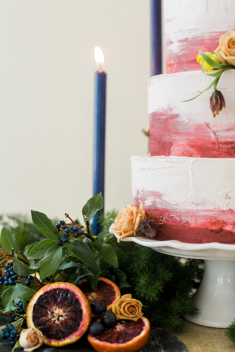 Utah Bride Blog The Potted Pansy Fall Cake