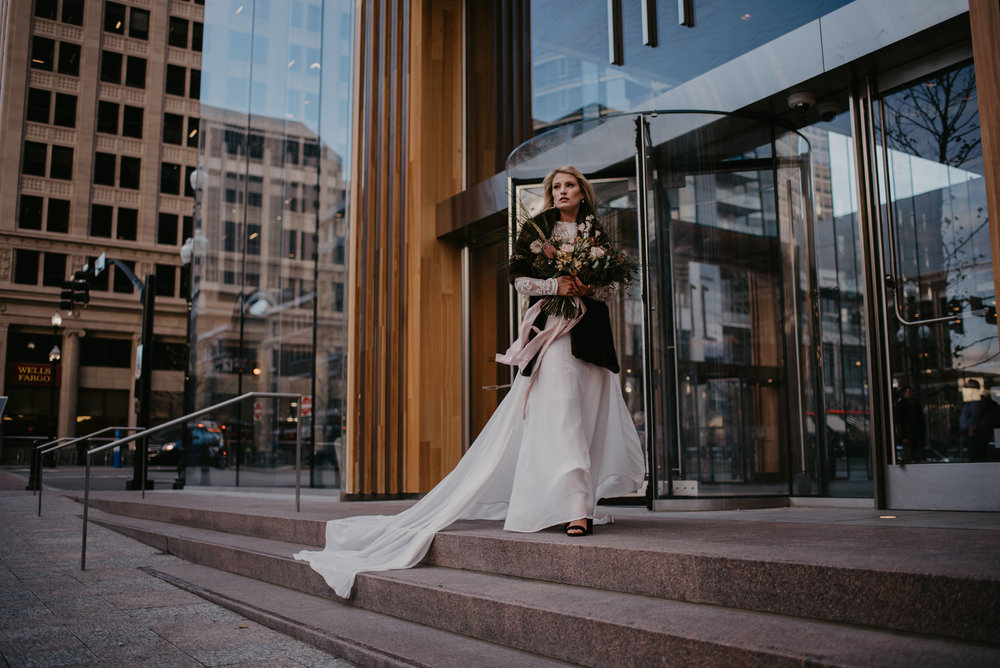 Downtown SLC City Bridals