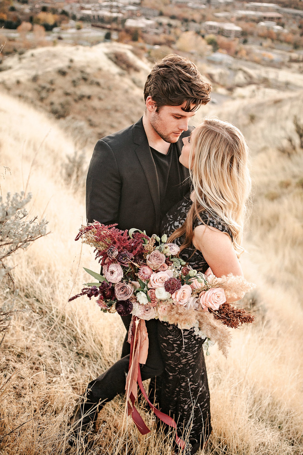 Utah Desert Mountain Bridal Bouquet