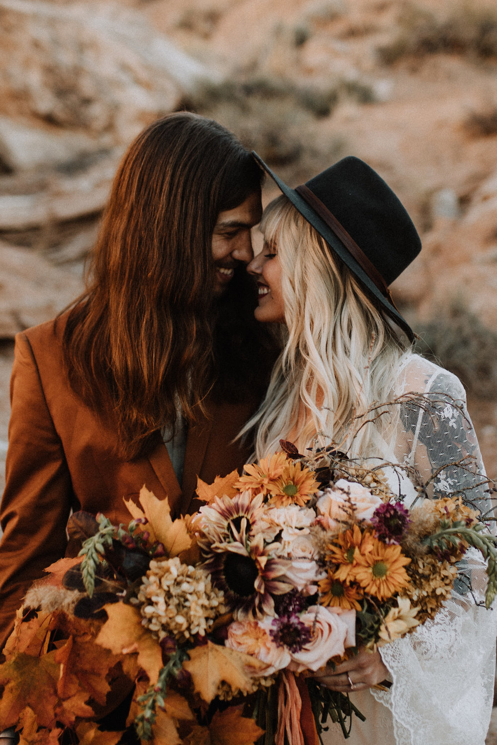 Capitol Reef Elopement with Shleeeeeeeeee