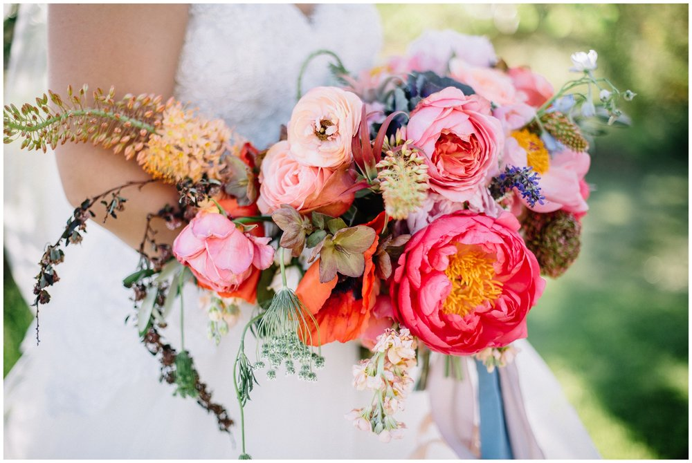 Spring Moab Wedding Bouquet