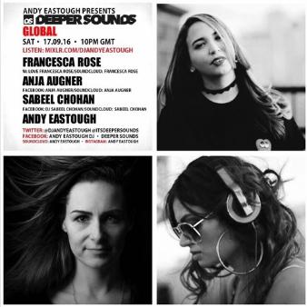 Deeper Sounds Mix: Francesca Rose 9/17/16