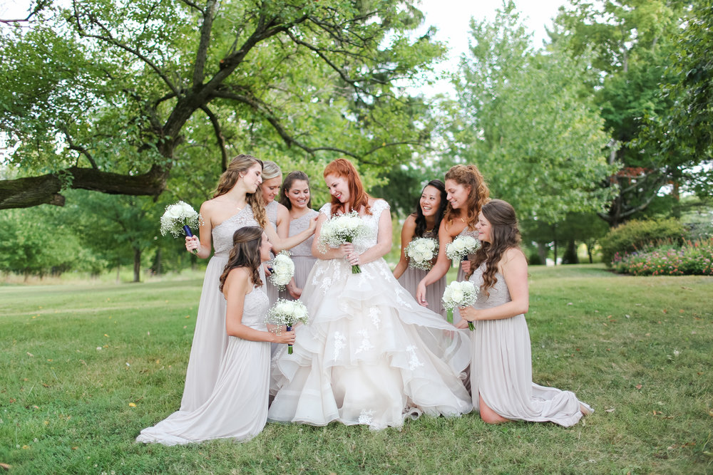 Bloomington Indiana Wedding Bride and Bridesmaid.jpg