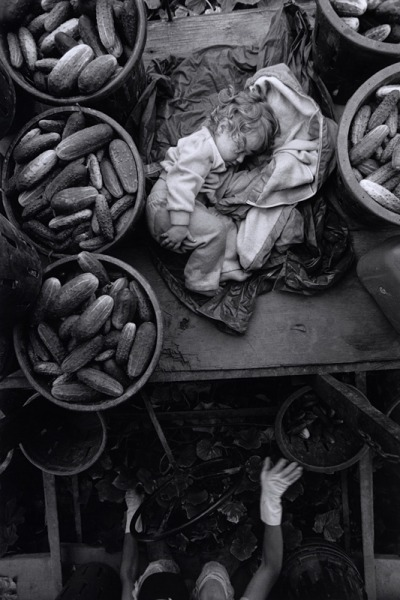 Life on a Canadian farm. Photo by Larry Towell.