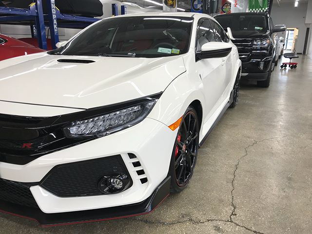 This Honda Civic Type R received a Stage 1 Paint Correction and a @ceramicpro_newyork lifetime package to keep her always shining. #executivepaintprotection #execpaintpros #lidetailers #ceramicpro #nomorewax #detailsdoneright  #thecoatingkings #detail #paintcorrection #car #carporn #carsofinstagram #nyc #wheelrepair #paintprotection #clearbra #adamspolishes #ceramicprousa ——————————————————————— New York's Premier Retail Detail Supply! We carry only the best premium product lines such as @adamspolishes, @sonaxusa, #menzerna, @carpro_global, @chemicalguys, @bigfootrupes, premium microfibers, and @ceramicpro at our continuously growing facility! 258 Broadhollow rd. Farmingdale, NY 11735 ---------------------------------------------------- Contact us @execpaintpros for all of your paint correction, clear bra, vinyl wraps, and permanent coating needs! Call 631.828.9166 or email contact@executivepaintprotection.com to reserve your appointment today! ———————————————————————