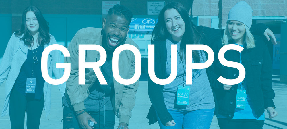 SMALL GROUPS - You need a community of believers that will help you grow and take the next step in finding freedom.