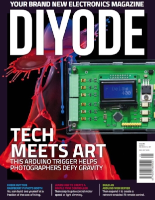Maker Electronics Magazine - I came across a new Maker Electronics magazine called DIYODE and quite enjoyed it. Check it out if you want a monthly flood of electronics project ideas mixed with some educational content.
