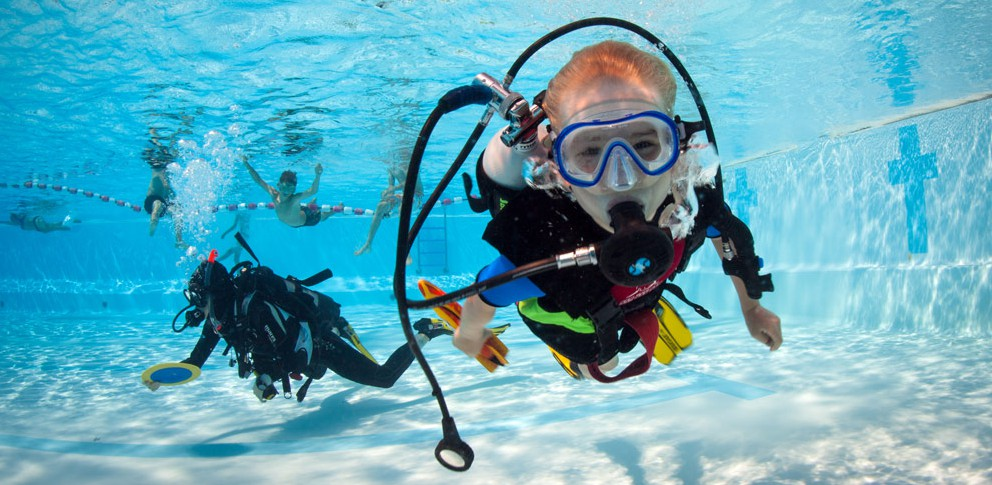 Bubble Maker   The PADI Bubble maker is a fun and educational program for children aged 8-10.  Conducted in the pool and the ocean by our highly attentive staff, your children will be able to experience breathing from scuba in a safe one on one environment.   Find Out More.