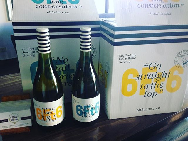 6 ft 6 by Austin & Co, two new wines picked up today from Geelongs Moorabool Valley sub-region. Beautiful!#geelong#wine#sauvblanc #pinotgris #reisling #cold #summer#thornburyheights #preston #northcote